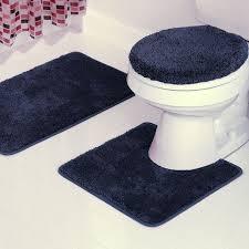 Bathroom Rugs Set Blue Bathroom Rug Set