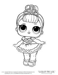 Lol Dolls Coloring Pages Sugar Sugar Coloring Page Lotta Lol Lol
