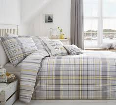 curtina rathmore duvet cover set includes 1 duvet cover and 2 pillowcases silver double co uk kitchen home