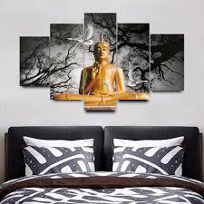 no frame buddha modern wall decor art oil painting on canvas