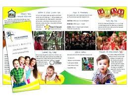 Sample Preschool Brochure | Kicksneakers.co