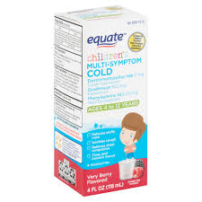 equate children s very berry flavored
