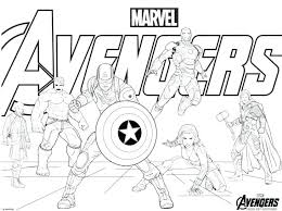 Avenger Coloring Page Marvel Coloring Pages Excellent Coloring Pages