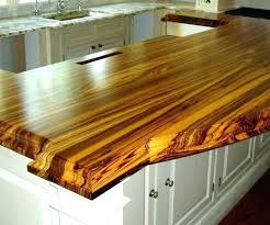 wood finish how to in kitchen species construction style edge grain countertop duratar waterproof thick flat