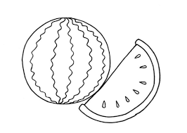 Small Picture Watermelon Coloring Pages Coloring Pages Kids