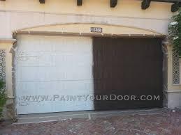 paint garage doorWood Grain Faux Painted Garage Doors  Beth the Door Diva Wood