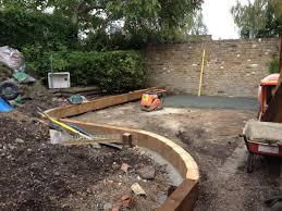 garden design with sleepers. garden design using sleepers blackheath with