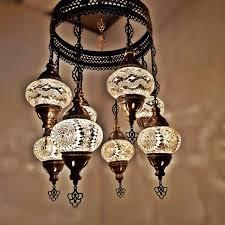Moroccan Lights Name Details About Turkish Moroccan Arabian Glass Mosaic Chandelier Lamp Light 8 Bulb Uk Seller