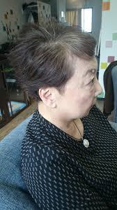 美容師解説白髪が似合う髪型で胸張って生きよう