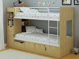 Bedroom The Most Incredible Wooden Bunk Beds With Storage