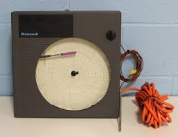 Refurbished Honeywell Dr4300 Circular Chart Recorder