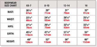 Tweens Bra Size Chart Best Picture Of Chart Anyimage Org