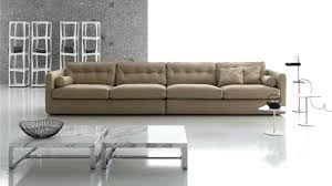 enchanting extra long leather sofa with stylish steel coffee table extra long sofas extra tall sofa table