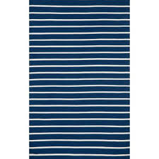 soro navy pinstripe stripe stripe outdoor rug