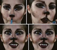 werewolf woman makeup tutorial step 7