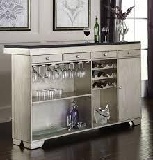 Farrah Bar Set in Silver Metallic by Pulaski Home Gallery Stores