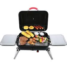 small gas grill tabletop table top portable outdoor bbq camping tailgate new
