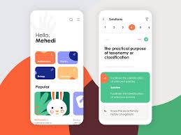 Quiz Design Online Quiz App Ui Design By Mehedi Hassan Roni On Dribbble