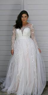 Dina Davos For Kleinfeld  Style 7852W PlusSize Wedding Dress Plus Size Wedding Dress Styles