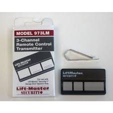 liftmaster sears chamberlain 3 on remote control garage door opener 973lm 390 mhz