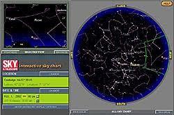 Interactive Star Chart Sky Chart Help Sky Telescope