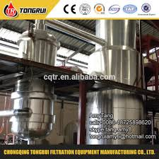 oil recycling machine waste