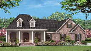 French Country Style House   Plan HWBDO76851