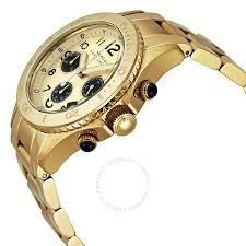 marc by marc jacobs rock metal chronograph gold ion plated men s marc by marc jacobs rock metal chronograph gold ion plated men s watch mbm3158