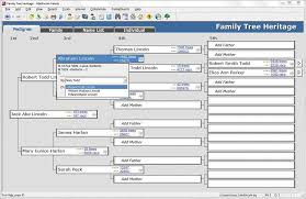 Family Tree Maker Fan Chart Family Tree Heritage Platinum 9 Windows Softwareload