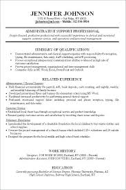 Work Resume Template No Job Experience Resume Resume Template For