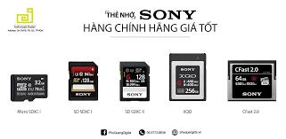 Thẻ nhớ Micro SD Sony – Máy Ảnh - Máy Quay - FlyCam - Thiết bị Studio - Phụ  Kiện