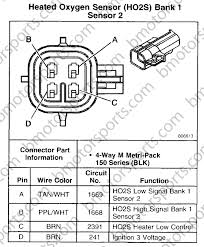 4 wire o2 sensor wiring diagram o2 sensor wiring diagram toyota at O2 Sensor Wiring Color Codes