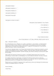 12 Email Official Format Cook Resume Formal Business Letter