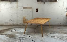 Tischfabrik24 Eiche Massivholz Esstisch Sixxty 60er Jahre Design