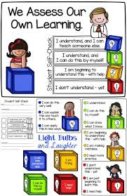 best ideas about assessment formative assessment metacognition helping students assess their own learning light bulbs and laughter
