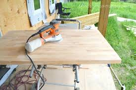 how to white wash stain and seal a butcher block making whitewash counter top