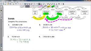 Bit Byte Kb Mb Gb Chart Fsco2 2 Converting Between B Kb Mb Gb Tb