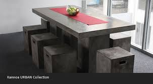 urban modern furniture. Kannoa Urban Dining Table II Modern Furniture M