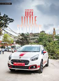 FIAT PUNTO ABARTH : TEST DRIVE / REVIEW: AUTOLIFE NEPAL