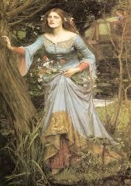 John William Waterhouse: Ophelia SILK POSTER Decorative ...