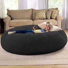 bean bag furniture. Modren Bean Jaxx Cocoon 6 Ft Foam Bean Bag Chair Microsuede Enlarge Throughout Furniture