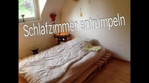 Minimalismus Schlafzimmer Ausmissten Umbauen Youtube