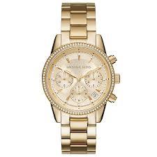 michael kors watches designer watches ernest jones michael kors ladies gold tone bracelet watch product number 5278406