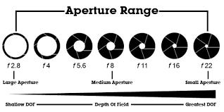 Photography Depth Of Field Chart Understanding The Factors That Affect Depth Of Field