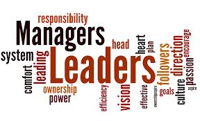 Resultado de imagen de management versus leadership