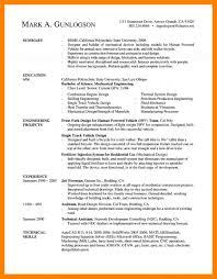 Engineering Resume Templates 100 Engineering Resume Templates Job Apply Form 58