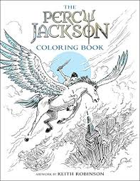 Small Picture Percy Jackson and the Olympians The Percy Jackson Coloring Book