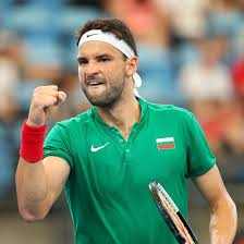 Grigor dimitrov of bulgaria plays a forehand during his men's singles first round match against juan ignacio londero of argentina on day one of the 2020 australian open at melbourne park on january. Resurgent Dimitrov Guiding Bulgaria At Atp Cup Australian Open
