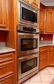 wall oven double oven kitchen appliances