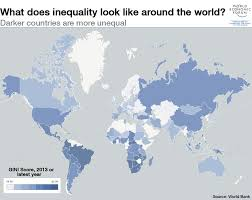 5 Maps On The State Of Global Inequality World Economic Forum